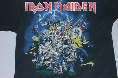 90s 1996 Vintage Iron Maiden Best Of The Beast Tour Concert T Shirt L