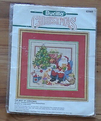Vintage The Best Of Christmas Santa Cross Stitch Pattern Only