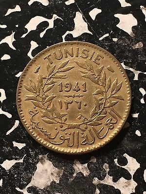 1941 Tunisia 1 Franc Lot#9797