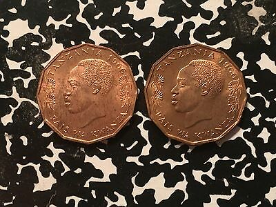 1966 Tanzania 5 Senti (2 Available) High Grade! Beautiful! (1 Coin Only)
