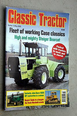 Classic tractor magazine Number 13 May 2002 Steiger Bearcat Track Marshall