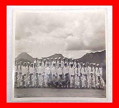 1946 Pearl Harbor Navy Navel Photo Division Fleet Air Wing Two Hq/faw-2 Wwii