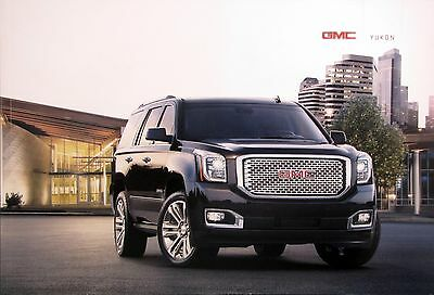 2017 GMC Yukon SUV new vehicle brochure