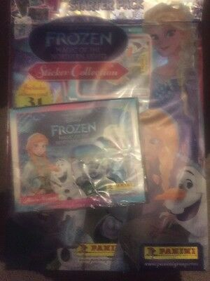 Disney's Frozen Magic Of The Northern  Lights  Box Of 50 Packets And Album