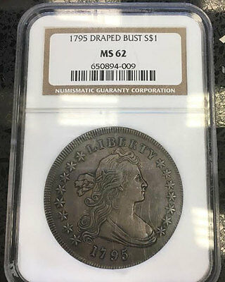 Unique, Oldest, Highest and Rarest of ALL Seris of entire 1795 $1 Off-NGC MS62