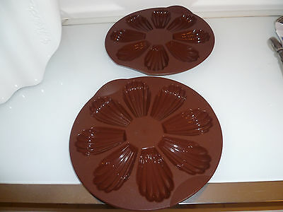 Tupperware Neuf Lot De 2 Moules A Madeleines Collector