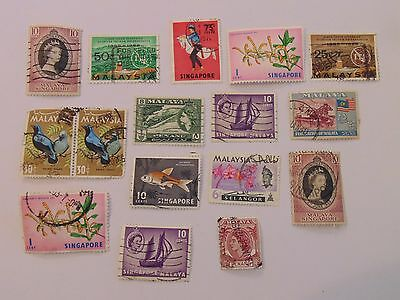 L1359 - Collection Of Malaysia Stamps