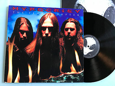 LP  Hypocrisy – The Final Chapter  1ST ISSUE 1997 Entombed Carcass