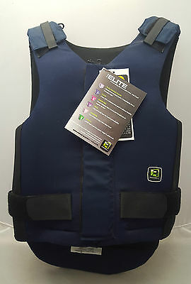 Rodney Powell Elite Level 3 Navy Body Protector Adults Size 4 **NEW**