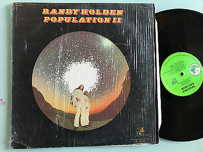 LP USA 1970 NM Randy Holden Population II  Hobbit Records ‎HB 5002  Blue Cheer