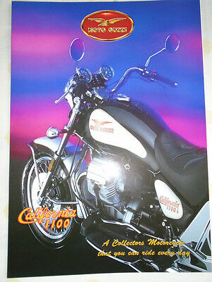 Moto Guzzi California 1100 Motorcycle brochure Feb 1994 English text
