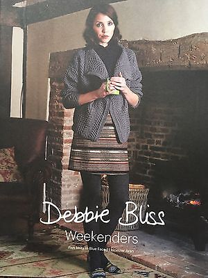 Debbie Bliss - Weekenders - Pattern Book - Dept Store Return