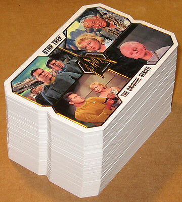 Star Trek TOS 50th Anniversary ~ COMPLETE 80-CARD BASE SET