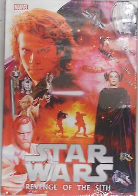 Star Wars Episode III Revenge of the Sith hardcover Marvel Comics movie adaption