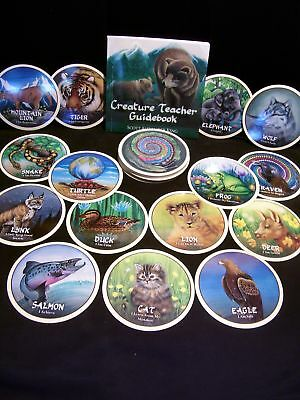 Brand New & Sealed! Creature Teacher Animal Wisdom Cards & Book Oracle All Ages