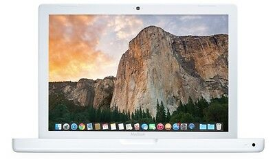 XMAS SPECIAL! Apple MacBook White 2009 2GHz Intel Core 2 Duo 2GB RAM 120GB HDD