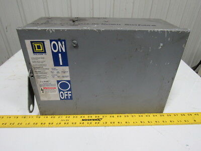 Square D PQ-3610GU Busway Fusible Disconnect Plug-In Unit 100A 600V 3P