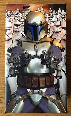 Star Wars AOTC 3D Lenticular Widevision 44 Card Base Set - Jango Fett Box
