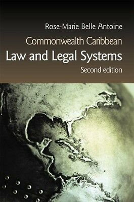 Commonwealth Caribbean Law and Legal Systems (Paperback), Belle A. 9781859418536
