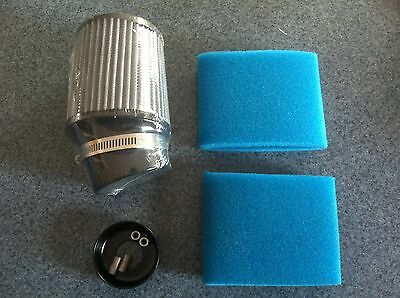 Clone Air Filter with Foam and Filter Adapter Fit Predator Box Stock GX200