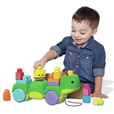 Mega Bloks First Builders Move 'N' Groove Caterpillar :The Official Argos Store