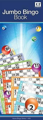 60 Strips Jumbo Bingo Pad Book Stationery Games Lottery Security 6 To View