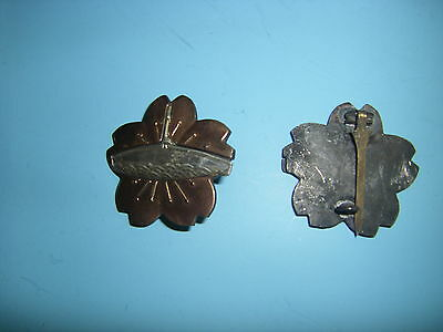 0307  WWII Japanese Submarine Badge r17c