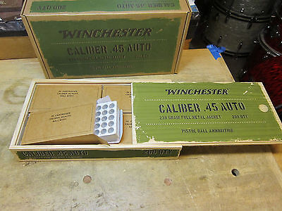 Winchester  Wood Ammo Box Limited Edition No Ammo