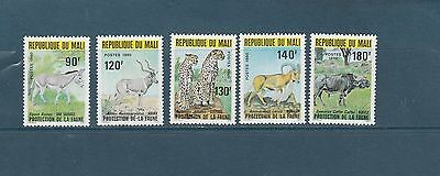 Mali  faune  animaux protection   de 1980   num: 359/63  **