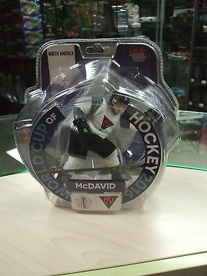 Connor Mcdavid 2016 World Cup Hockey 6 inches Limited Edition Imports Dragon MOC