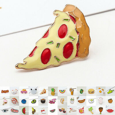 Funny Shape Shirt Collar Badge Pins Decoration Fashion Brooch Gifts Jewerly