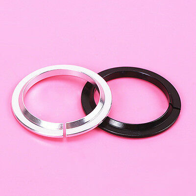 """New Bicycle Crown Race 36°/45° Mountain Bike Headset Parts For 1-1/8"""" Fork 2PCS"""