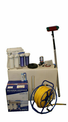 400GPD WATERFED POLE 250L WINDOW CLEANING SYSTEM 18ft Pole