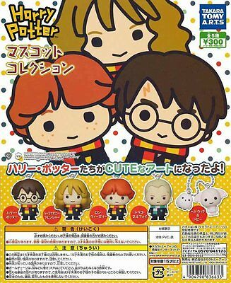 Takara Tomy Harry Potter Gashapon Mascot Collection Figure Completed Set 5pcs