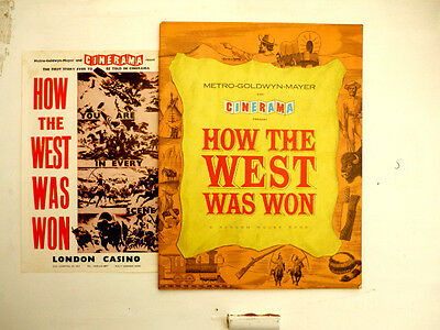 """""""How the West Was WON""""...in Cinerama...1960s...Film Programme..."""