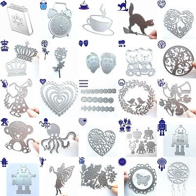 New Metal Cutting Dies Stencil Scrapbook DIY Album Paper Card Craft Embossing