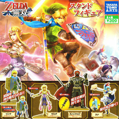Takara The Legend of Zelda Musou Link Wii U Hyrule Warriors Figure Set of 4