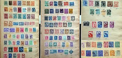 Colombia  &  Provinces  1880-1920  142  Stamps  From  Very  Old  Album