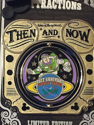 Disney Then & Now - If You Had Wings to Buzz Lightyear Space Ranger Spin LE 1000