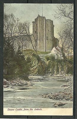Postcard : Doune Castle viewed from the Ardoch posted 1904
