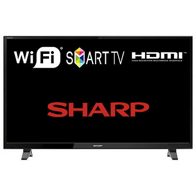 "Sharp LC-49CFG6001K 49"" Smart LED TV Full HD 1920x1080 with Freeview HD"