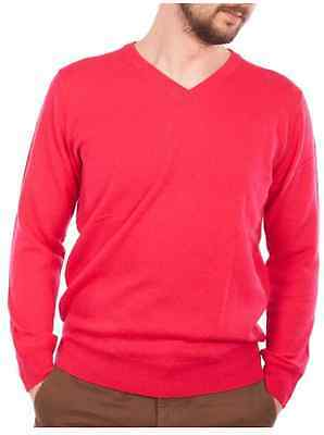 ProQuip Edinburgh Merino V-Neck Jumper -ProQuip Clothing 100% Lambs Wool Mens XL