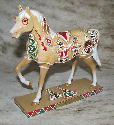 TRAIL OF PAINTED PONIES Village Christmas Cookie 1E/1256 Holiday 2012 RETIRED