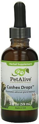 PetAlive Cushex Drops S (60ml) - Natural Remedy for Adrenal Health in Dogs