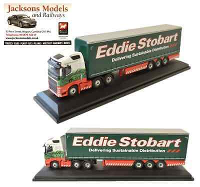 Oxford 76VOL4001 Volvo FH4 Curtainside Eddie Stobart 1:76 Scale