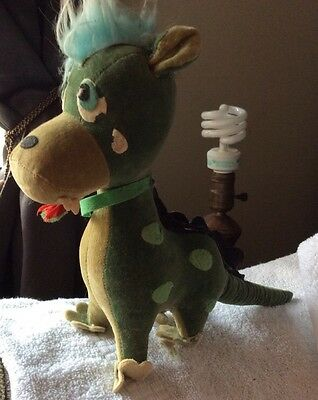 Vintage 1960s Dakin Lik  Dream Pet Crying Dragon Sawdust Stuffed Animal  Japan's