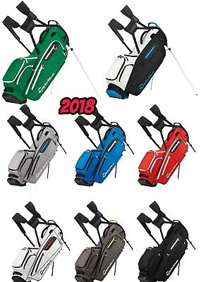 """new 2017"" Taylormade Flextech Dual Carry Strap Golf Bag Stand Carry Bag 2.5 Kg"