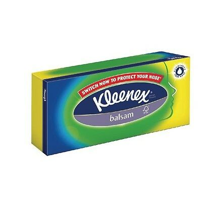 Kleenex Balsam Tissues Pack of 80 White 3389000