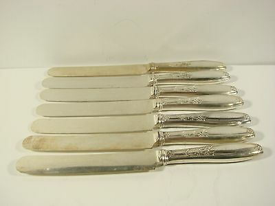 1847 Rogers Brothers blunt edge silver plate Knives