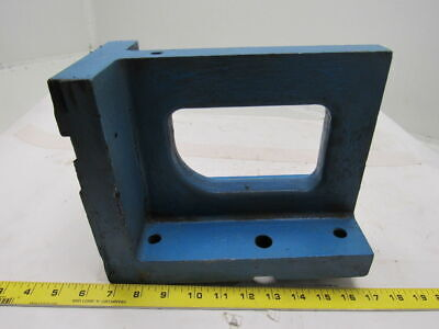 "11x8""x5-1/2"" Cast Iron 90° Angle Plate/Block Machinist Set Up Fixture"